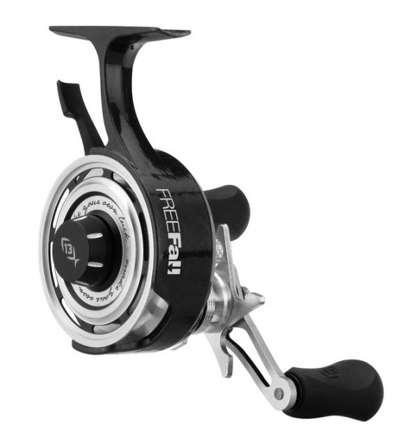 Black betty freefall ice reel kabele 39 s trading post for 13 fishing ice reel