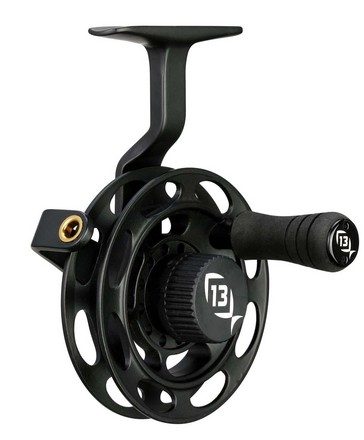13 fishing black betty ice in line reel kabele 39 s trading for In line ice fishing reel