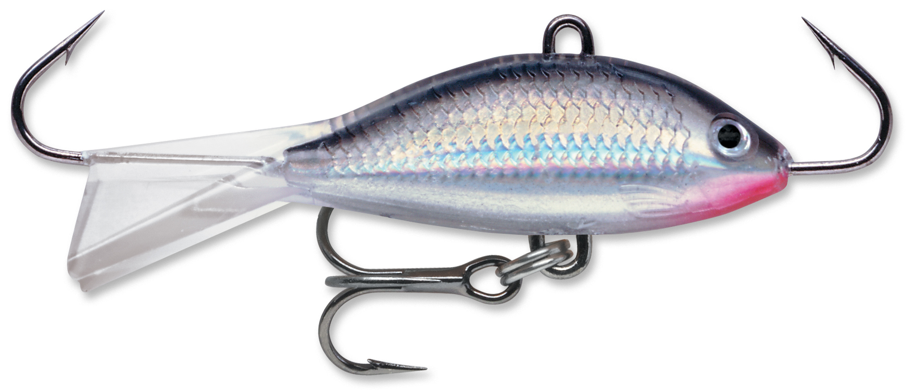 Rapala wsr jigging shad rap kabele 39 s trading post for Ice fishing plastics