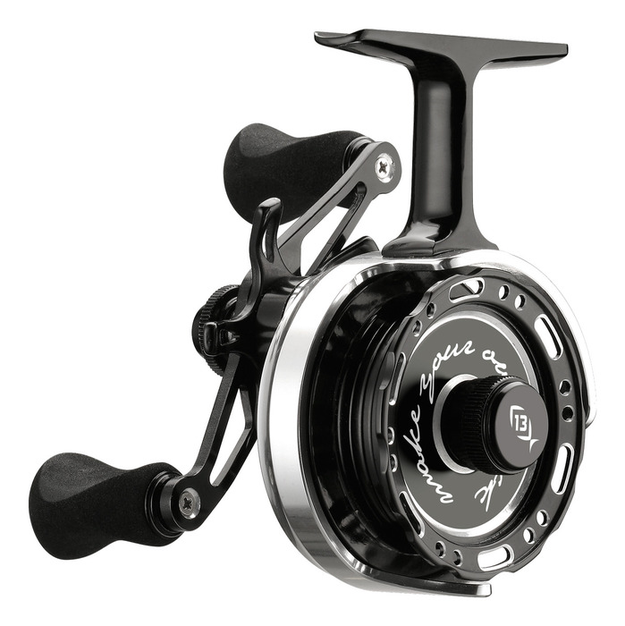 13 fishing black betty 6061 inline reel right hand reel